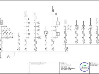 FTK Electrics - Eendraadschema's
